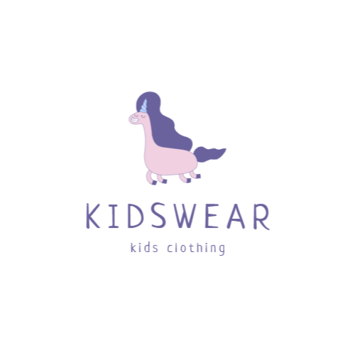 Shop kids clothing logo design