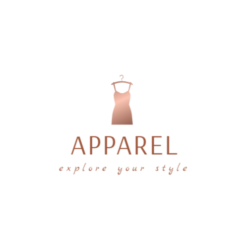 Shop apparel logo template