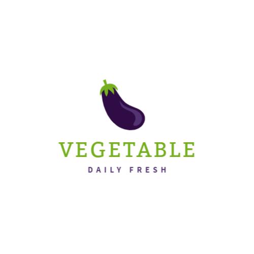 фиолетовый баклажан логотип