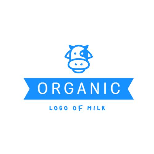 милый корова логотип