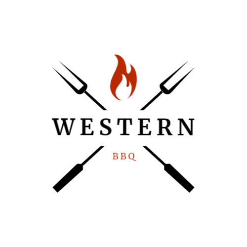 Meat Fork with Fire logo