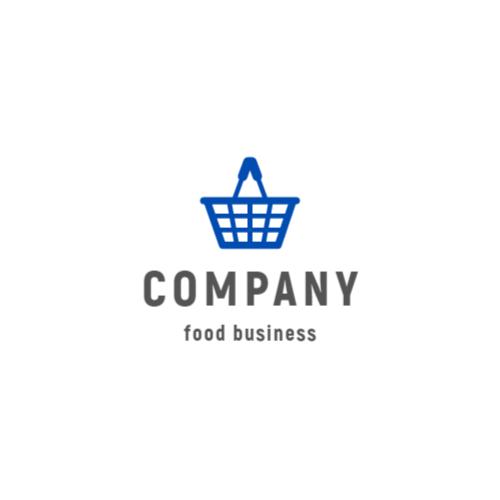 Blue Shopping Basket logo