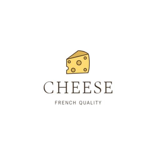 French cheese brand logo