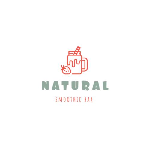 Smoothie bar logo design