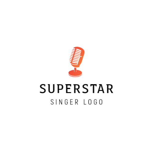 Singing competition logo design