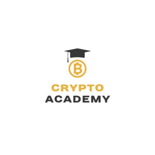 Graduate Cap & Bitcoin logo