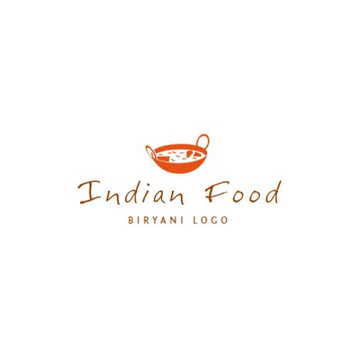 индийская еда логотип