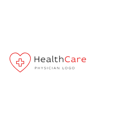 Medical Cross & Heart logo