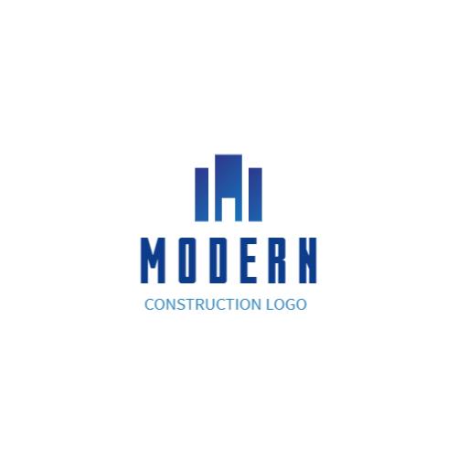 Minimalistic Building logo