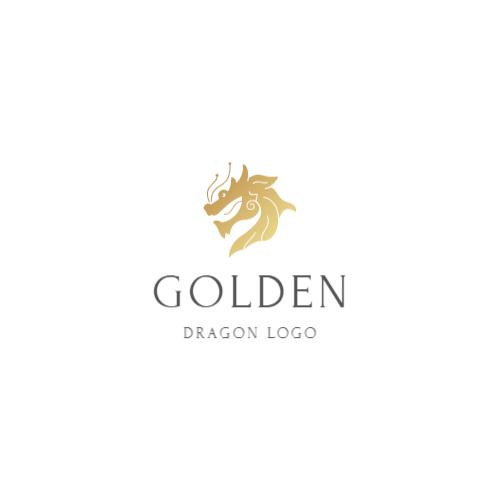 золотой дракон логотип