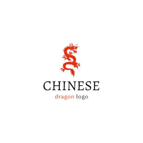 Chinese Red Dragon logo
