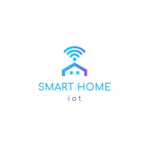 дом и wi-fi логотип