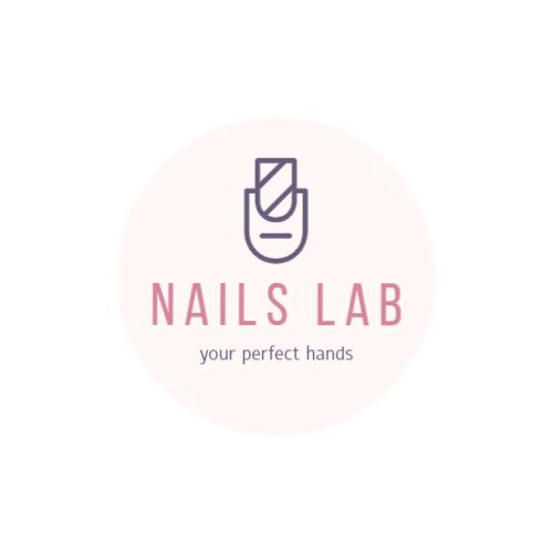 Manicure salon logo template