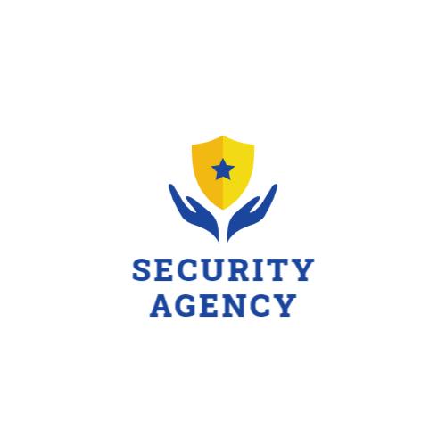 Yellow Shield & Hands logo