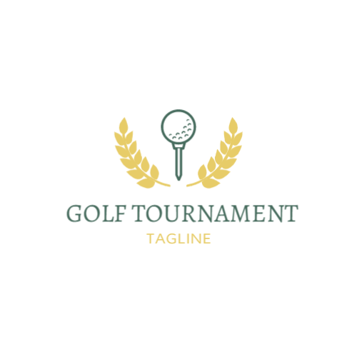 Tennis Ball Tournament Logo