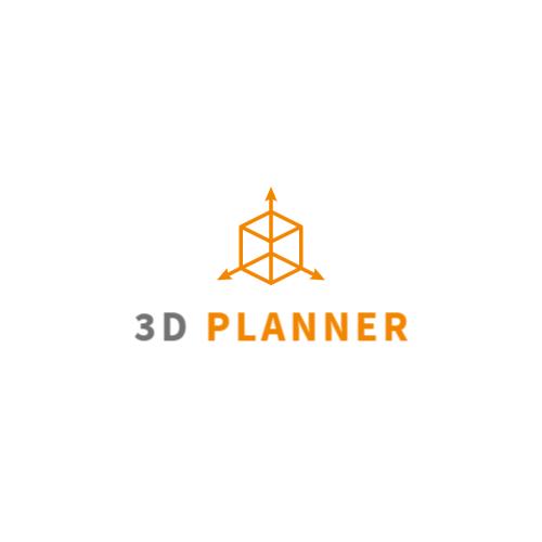 3D Square logo