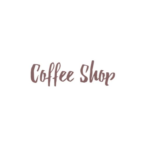 надпись минималистский логотип
