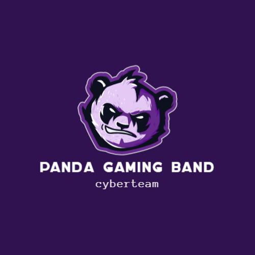 панда игровой логотип