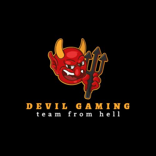 дьявол игровой логотип