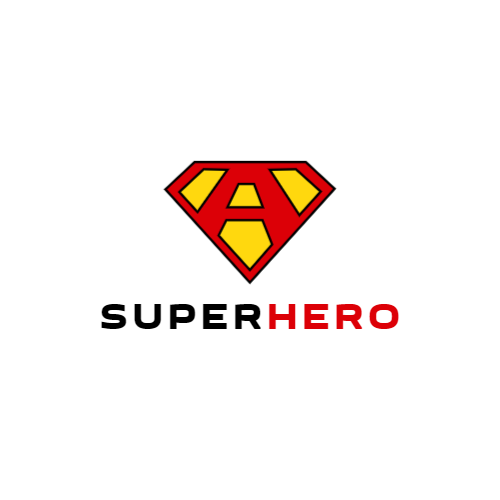 Superhero Icon logo