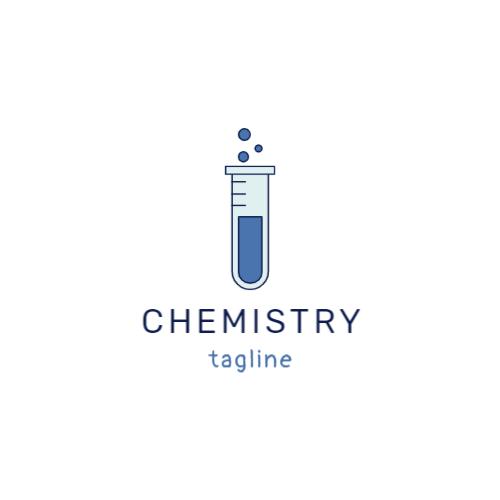 пробирка химия логотип
