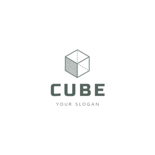 Cube Minimalistic logo