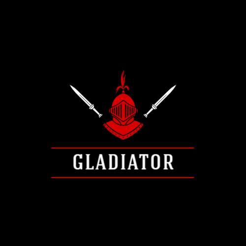 темный воин игровой логотип