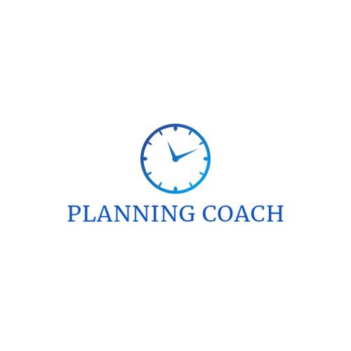 часы планирования логотип