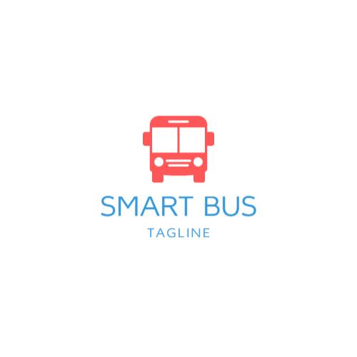 Red Smart Bus logo