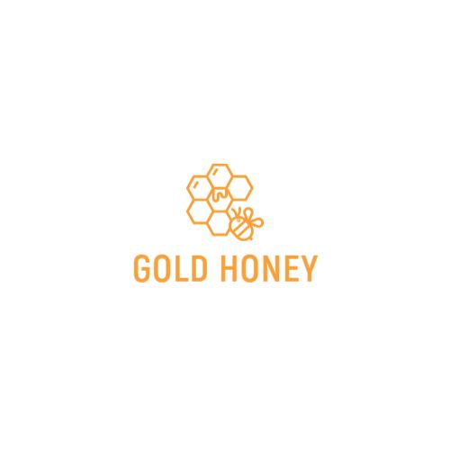 соты и пчела логотип