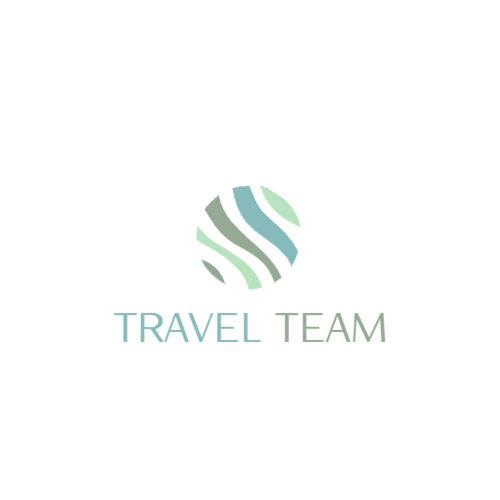 Travel company logo template