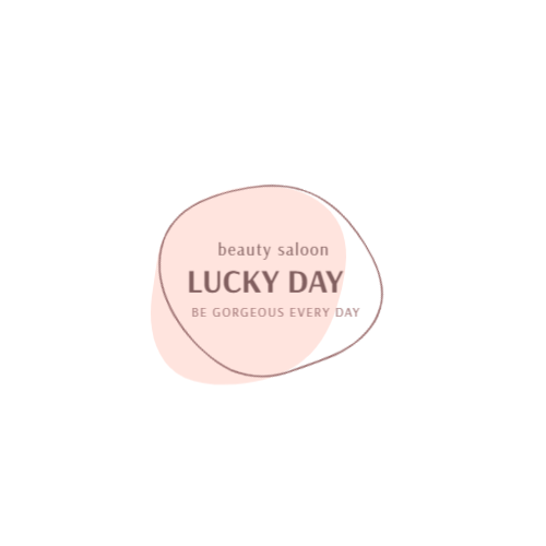 Beauty salon pastel logo