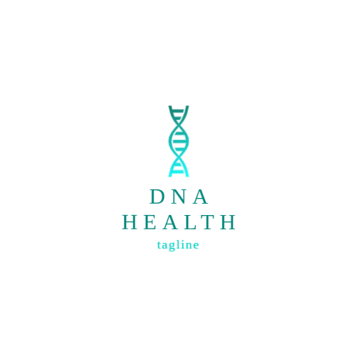 Gradient DNA logo