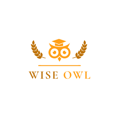 Owl & Wheat Ears logo