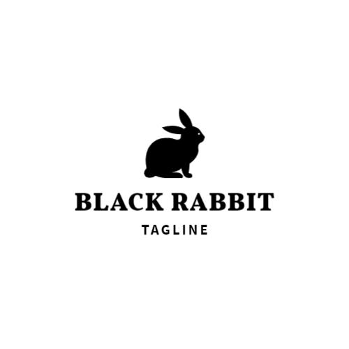 черный кролик логотип