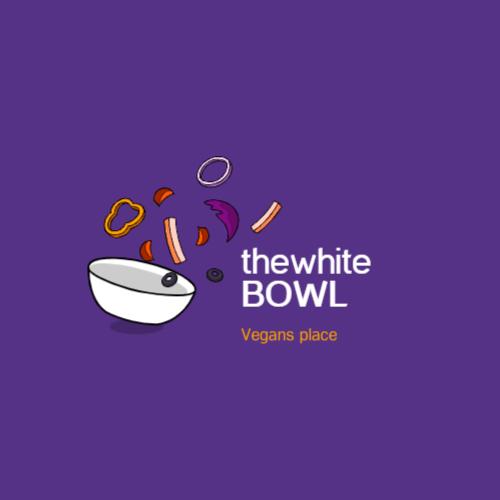 тарелка с летающими овощами логотип
