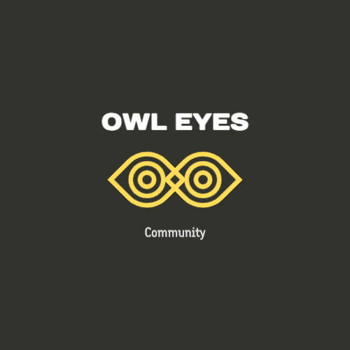 Owl Eyes, Community Лого
