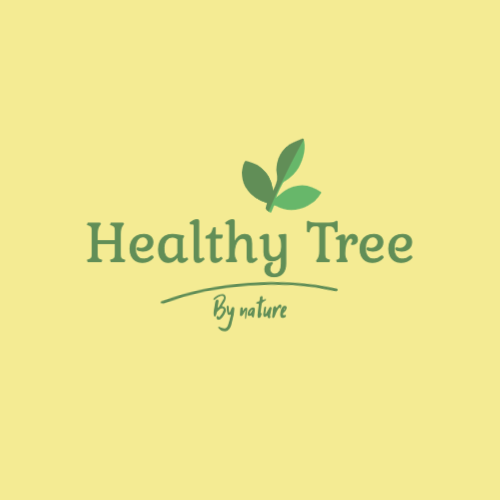 Healthy Tree, By Nature Logo