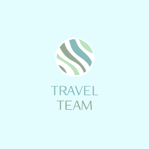 Logo for travel organization firm