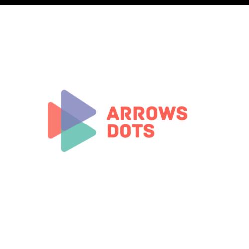 Arrows Dots Logo