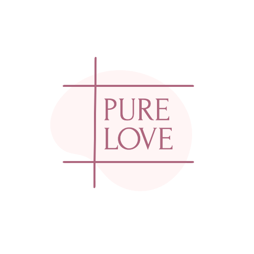 Pure Love, Flowers For You Logo