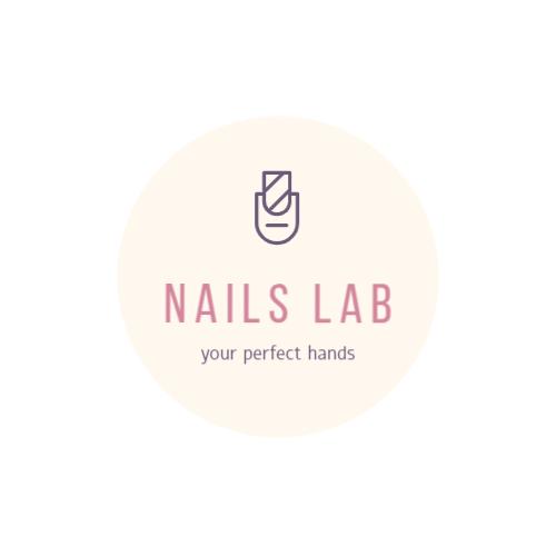 Logo template for manicure salon