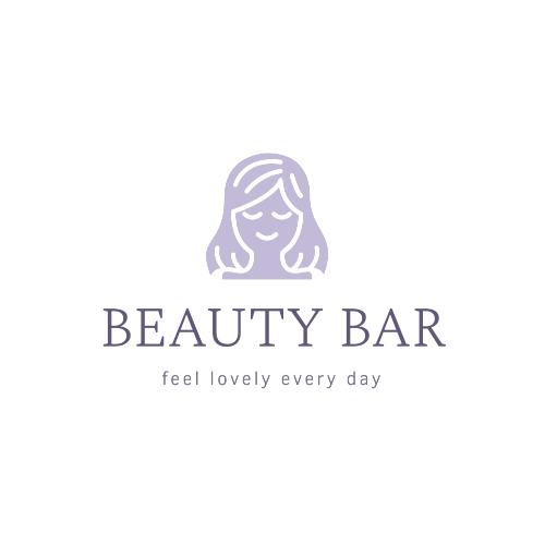 Beauty Bar, Feel Lovely Every Day Logo
