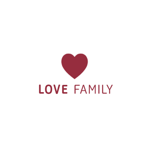 красное сердце любовь логотип
