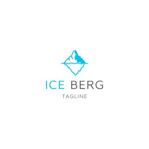 Blue Iceberg logo