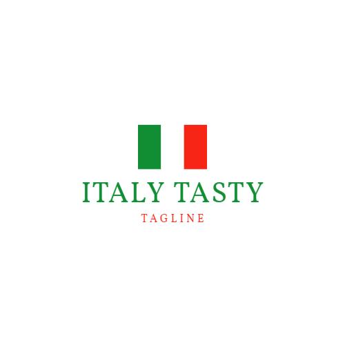 логотип ресторана флаг италии