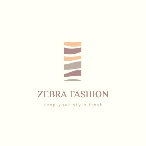 Zebra Fashion, Keep Your Style Fresh Logo