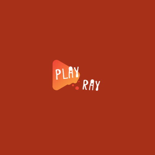 Orange Play Icon logo