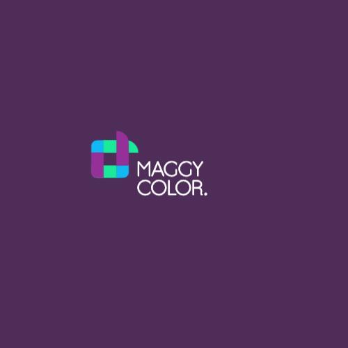 Maggy Color.  Logo