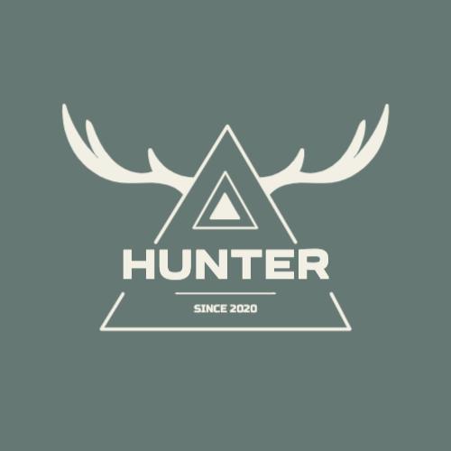 Hunter, Since 2020 Logo
